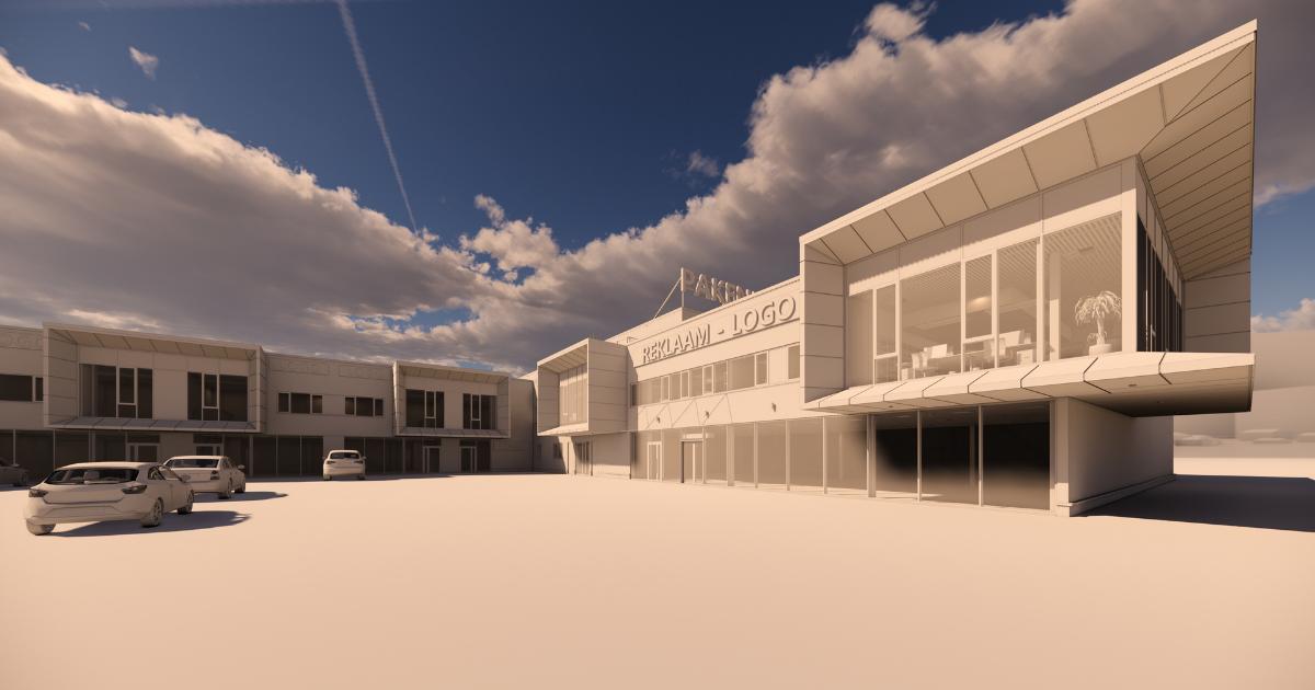 Lennujaama kõrvale kerkib moodne stock-office ärikeskus