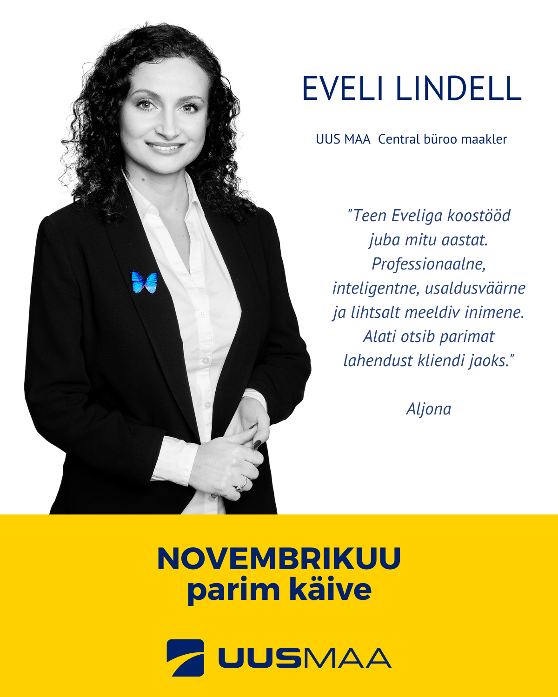 Eveli Lindell - Uus Maa Central