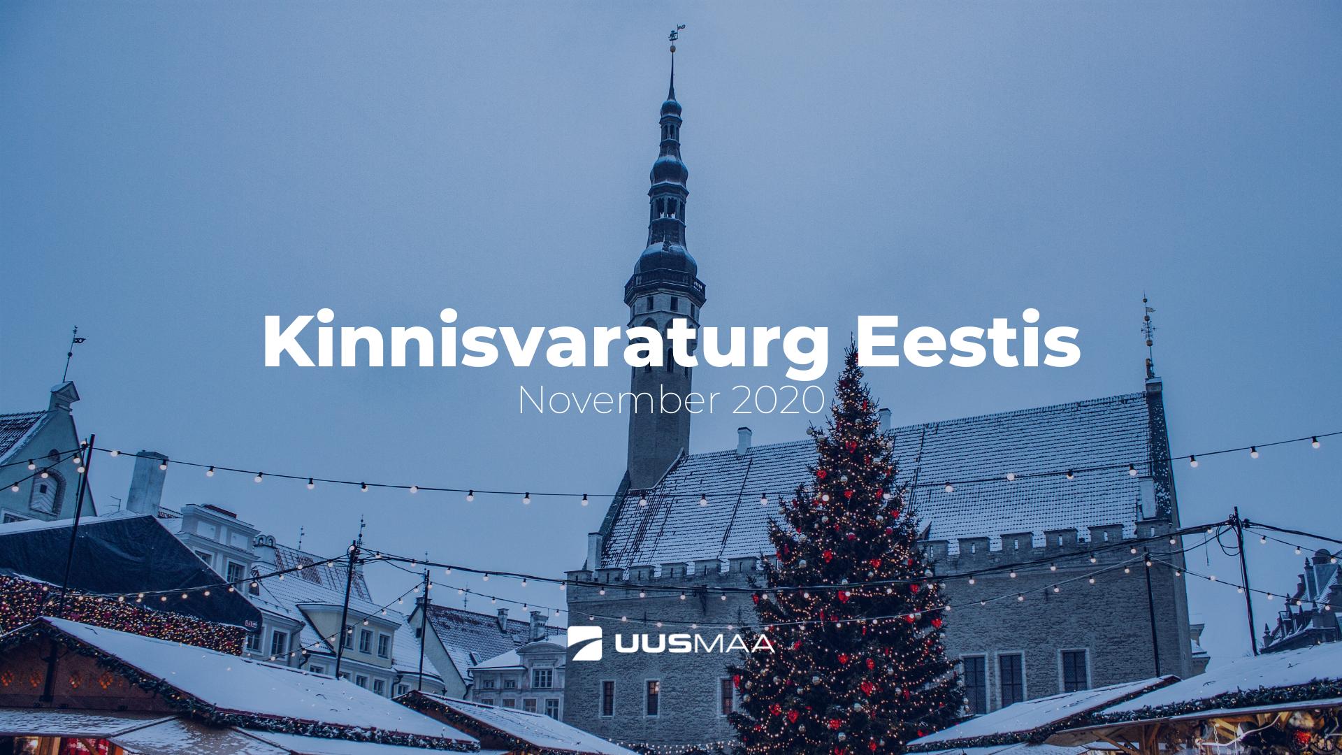 Kinnisvaraturg Eestis - Uus Maa Kinnisvarabüroo
