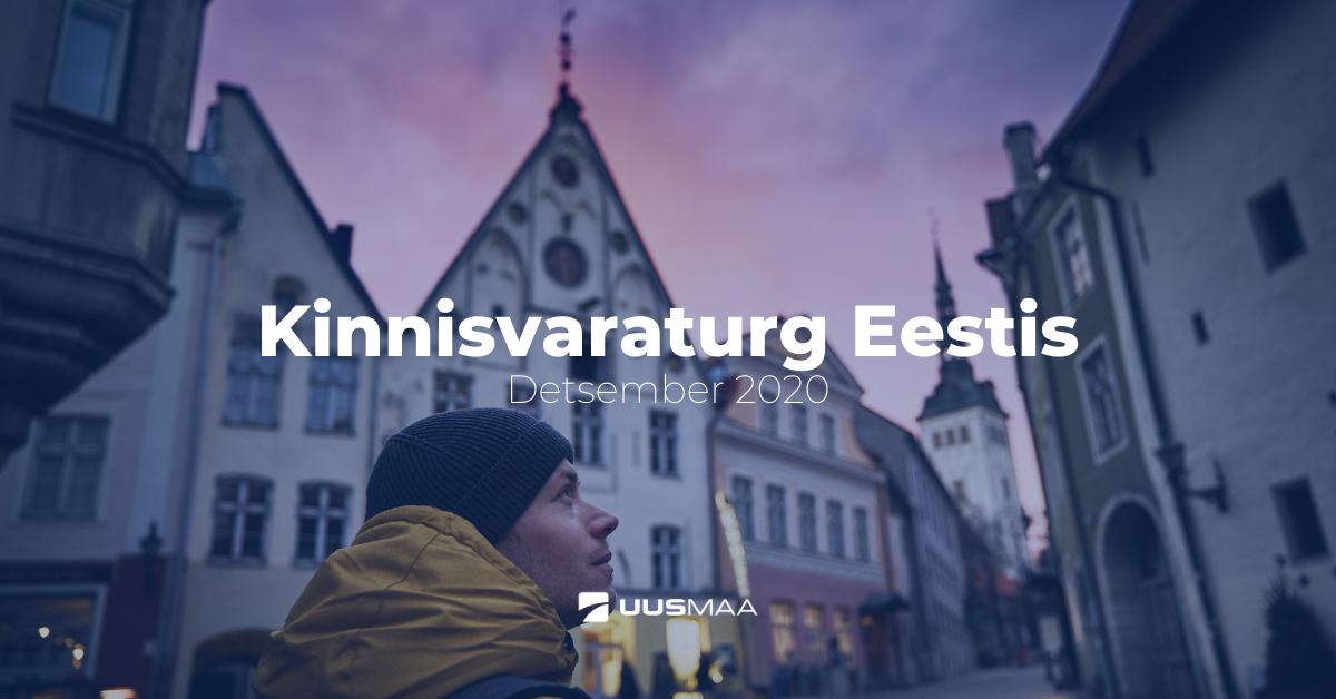 Eesti kinnisvaraturg detsembris 2020
